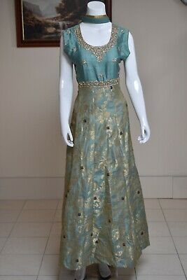 £30 • Buy Ready Made Indian Ladies Long Dress Suit.