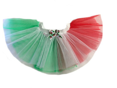 Tutu Skirt St Davids Day Welsh Dragon Green Red White Fancy Dress Hen Party • 4.99£