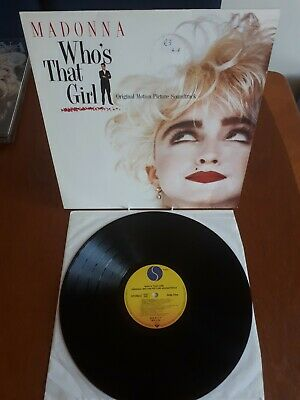 Madonna - Who's That Girl Original Soundtrack From The Film Vinyl Lp VG+NM • 4.99£