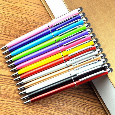 Touch Screen Ballpoint Stylus Pen For Iphone Ipad Tabs Android Phone #23 • 2.45£