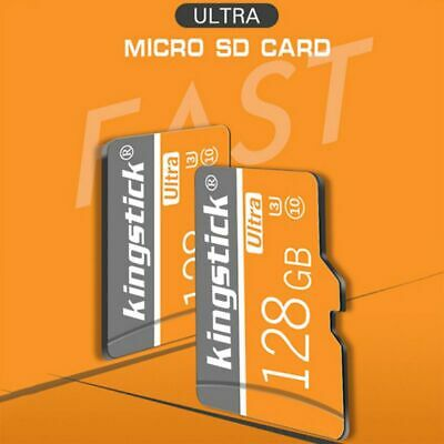$11.27 • Buy For Phone Cameras 128GB SDHC SD-Card Flash-Memory High Speed U3 C10 TF-Cards US