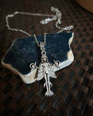 $ CDN2.99 • Buy Lilith Necklace,Goddess Jewelry,Lilith Pendant,Witch Jewellery,Spiritual Gothic