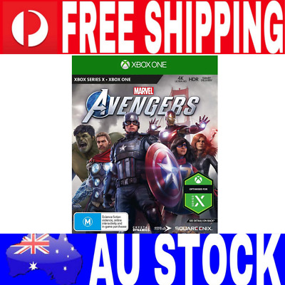 AU85.95 • Buy Marvels Avengers XBOX ONE 1 Game (Brand New)