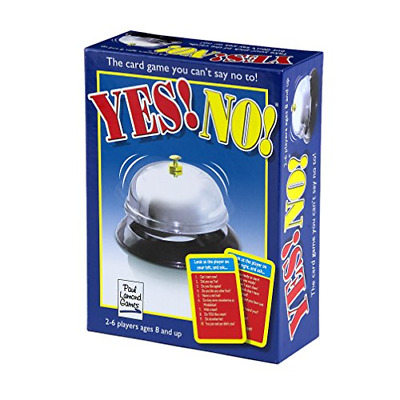 The Yes! No! Game Fast And Furious Fun - Answer Yes Or No Get Dinged Out! NEW Ga • 9.85£