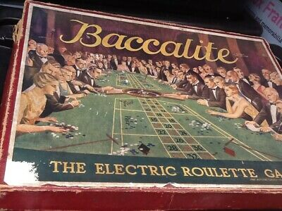 £9.99 • Buy  Vintage Old  Baccalite The Electric Roulette Board Game