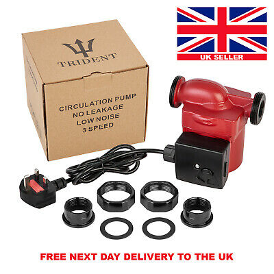 Central Heating Water Circulation Pump TRIDENT  25/60/130 Next Day UK Delivery. • 95£