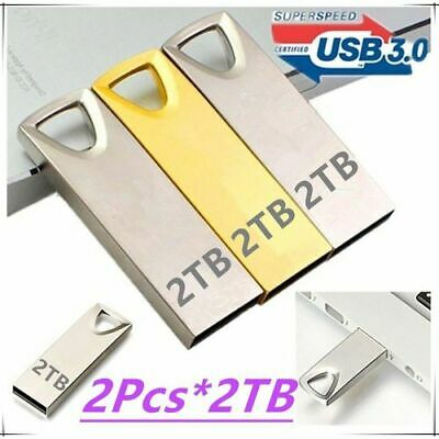 $ CDN17.12 • Buy 2TB USB 3.0 Flash Drives Metal USB Flash Drives Pen Drive Flash