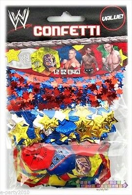 WWE WRESTLING CONFETTI VALUE PACK (3 Types) ~ Birthday Party Supplies Decoration • 3.21£
