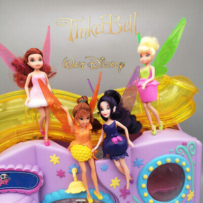 Disney Fairy Fairies Dolls With Wings 9.5 Inches Tall Jakks Toys  For Girls • 9£