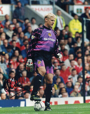 PETER SCHMEICHEL Signed Photograph - Manchester United & Denmark - Preprint • 4.99£