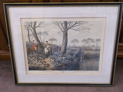 Hare Hunting 1 La Chasse Au Lievre By Samuel Howitt.  (collect From Bexhill) • 35£