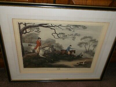 Fox Hunting 2nd No 4 La Chase Au Renard By Samuel Howitt (collect From Bexhill)  • 35£