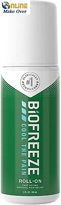 Biofreeze Pain Relieving Roll-On, 89 Ml, Cooling Topical Analgesic, On-the-Go • 11.50£