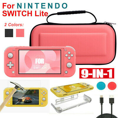 AU23.99 • Buy For Nintendo Switch Lite Storage Case Bag+HD Screen Protector+Cover Accessories