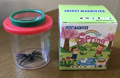 £2.50 • Buy New & Boxed Insect Magnifier Toy With Toy Spider