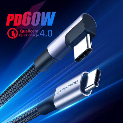 AU9.79 • Buy PD 60W QC 4.0 Type C To USB C Fast Charge Cable USB C To USB C Cord Cable AU