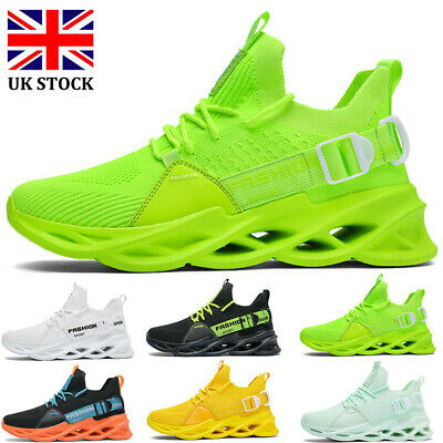 Mens Womens Sports Shoes Running Trainers Athletic Fitness Gym Lace Up Sneakers • 14.99£