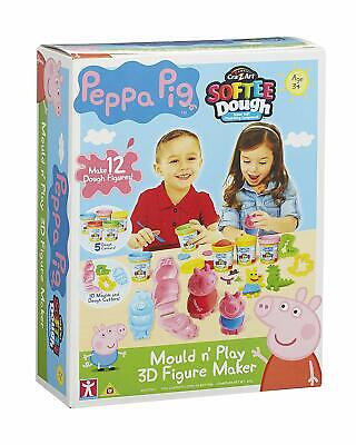 Peppa Pig Dough Mould And Play 3D Figure Maker • 14.99£