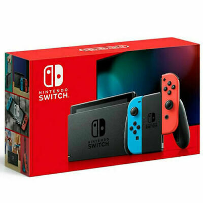 $ CDN399.99 • Buy Nintendo Switch Console Neon Joy-Cons HADSKABAA V2 Enhanced Battery NEW 2020