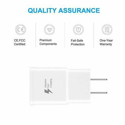 $ CDN5.99 • Buy Samsung Orignal Fast Adaptive Wall Charger, Cable Galaxy S10 S8 S9 Plus Note 9 8