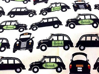 £7.99 • Buy Harrods London Taxi Images Tea Towel 100% Cotton New *discontinued