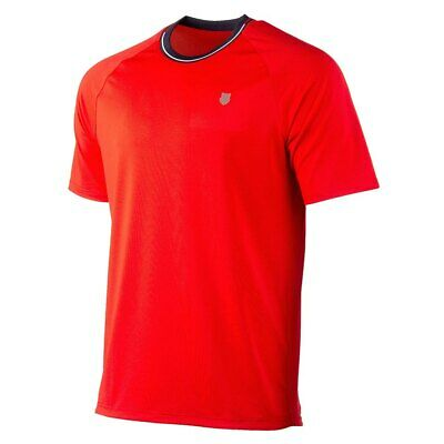 K-swiss Heritage Classic T-shirts Men´s Clothing Red • 40.49£