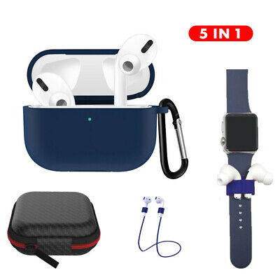 $ CDN6.21 • Buy 5in1 For Apple AirPods Pro Protective Case Cover Kits Storage Box Accessories