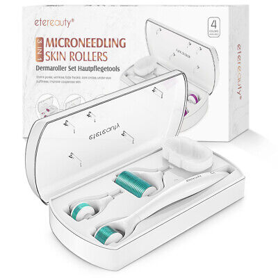 AU14.29 • Buy 3 In 1 Needle Roller Derma Facial Roller Skin Care Acne Cleaning Skin Therapy AU