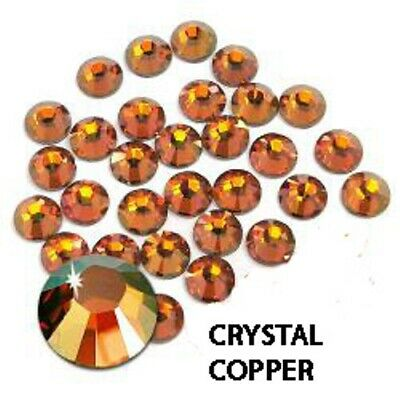 Factory Pack Swarovski SS16 CRYSTAL COPPER  Hotfix Crystals - 1440 Crystals • 45£