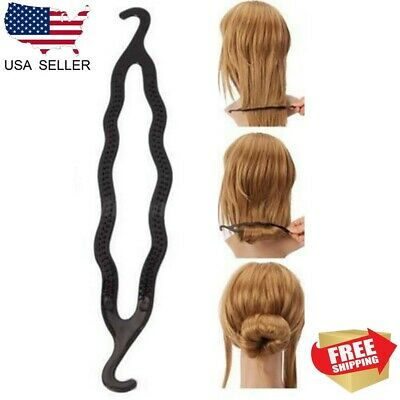 $2.29 • Buy Magic Hair Twist Styling Clip Stick Bun Maker Braid Tool Hair Accessories