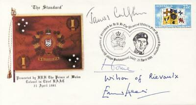 £457.21 • Buy Harold Wilson (great Britain) - Commemorative Envelope Signed With Co-signers