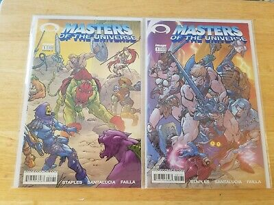 $19.99 • Buy Masters Of The Universe #1 Cvrs A + B - Image 2002 - Campbell Invincible Preview