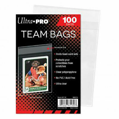 Ultra Pro Resealable Team Bags For Trading Cards (100 Pcs) Yugioh Pokemon MTG  • 3.49£