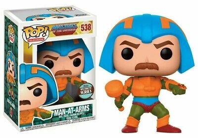 $28.98 • Buy FUNKO POP! MAN-AT-ARMS #538 Vinyl Figure SPECIALY SERIES Masters Of The Universe