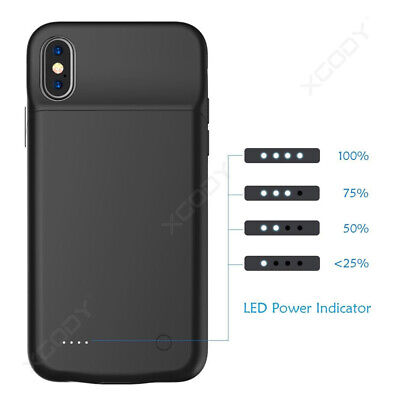 AU34.88 • Buy Battery Case Battery Charger Charging Power Bank Case For IPhone X/Xs 11 Pro Max