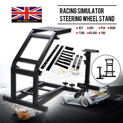 For G29 G920 T300RS T80 Racing Simulator Steering Wheel Stand GT Model Gaming • 40.99£