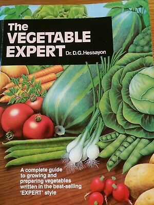 The Vegetable Expert Book BY Dr.G.Hessayon Paperback Book • 13.99£