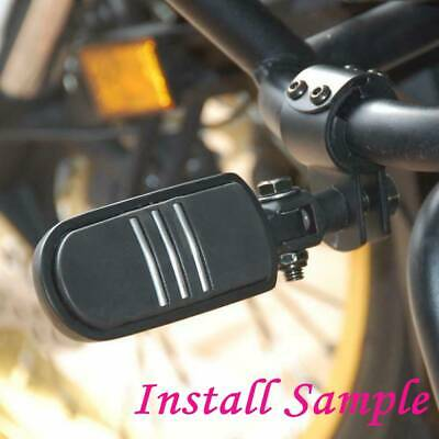 AU52.41 • Buy Motorcycle Black Highway Foot Pegs Rest Engine Guard For Harley Davidson Softail