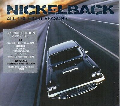Nickelback - All The Right Reasons (CD 2008) Special Edition • 5£