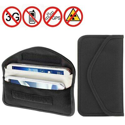Anti-Radiation Wallet Car Key Case Signal Blocker Shielding RFID Bag Phone Pouch • 5.29£