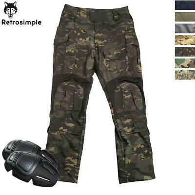 $61.62 • Buy Mens Army Military GEN3 Cargo Pants Combat Pants Tactical Casual Trousers Hiking