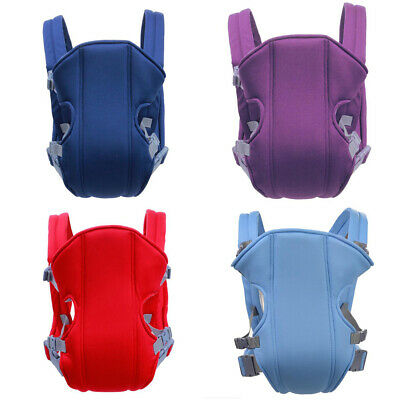 Adjustable Infant Baby Carrier Wrap Sling Hip Seat Newborn Backpack Breathable M • 7.29£