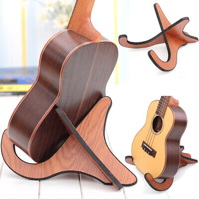 AU16.29 • Buy Portable Foldable Stand Bracket Holder For Ukulele Violin Mandolin Banjo NEW AU