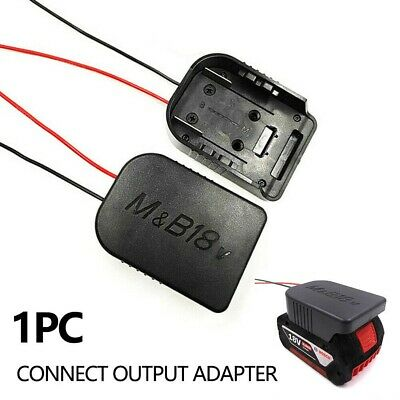 AU21.56 • Buy For Makita /Bosch 18V Li-ion Battery To DIY Cable Connect Output Adapter Tool AU