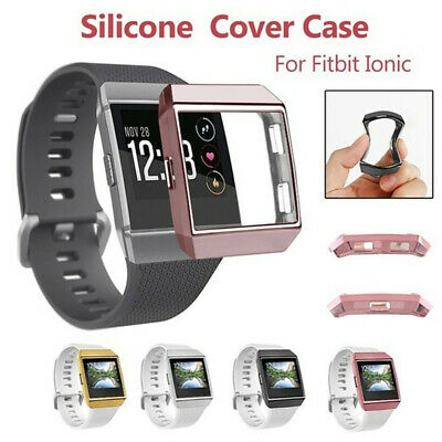 $ CDN4.28 • Buy TPU Shell Screen Protector Protective Case Watch Frame For Fitbit Ionic