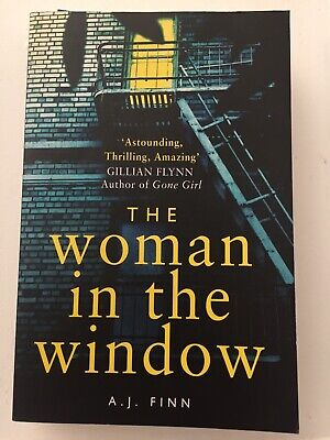 AU12.50 • Buy The Woman In The Window By A. J. Finn (2018, Paperback)