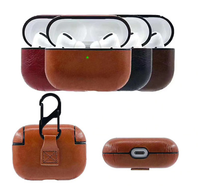 $ CDN5.72 • Buy For Apple AirPods Pro Charging Case Leather Protective Cover Airpod 1/2/3 Case