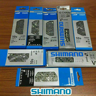 6/7/8/9/10 Speed Bicycle Bike Steel Chain With 116 Links For SHIMANO UK STOCK • 7.99£