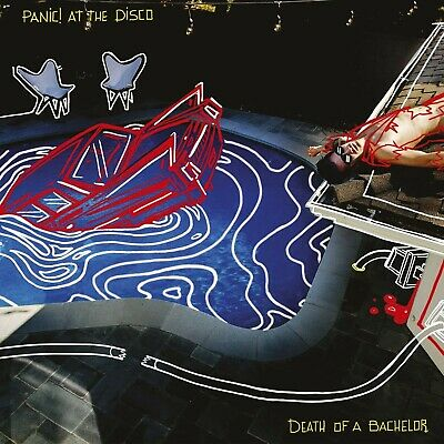 Panic At The Disco -Death Of A Bachelor CD 2016 (NEW) Hallelujah/Threaten Me  • 3.99£