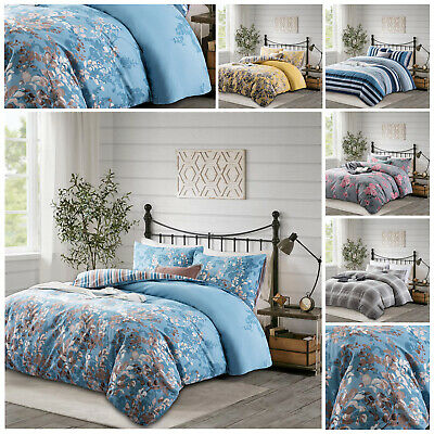 £13.99 • Buy 3 Piece Floral Duvet Cover Single Double King Size Bedding Set With Pillow Cases